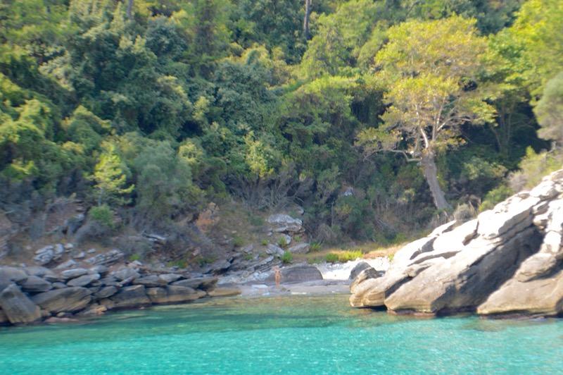 Plaja izolata Thassos Insula Krambousa 4