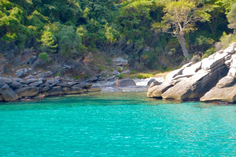 Plaja izolata Thassos Insula Krambousa 2