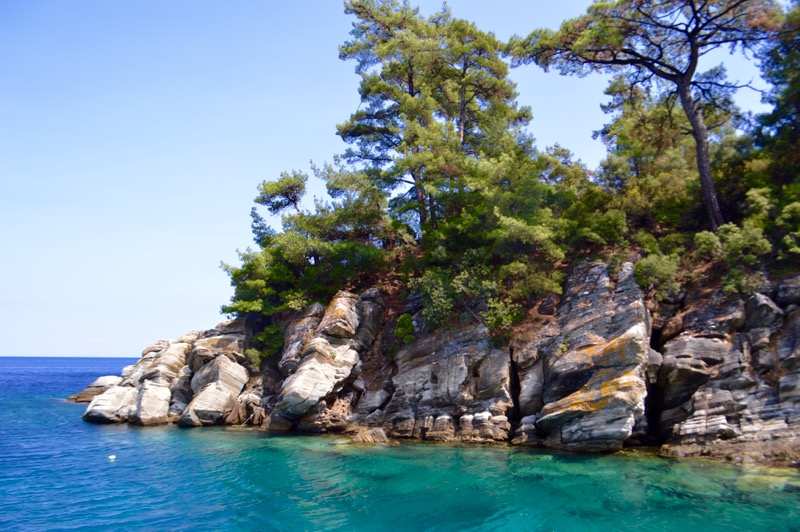 Plaja izolata Thassos Insula Krambousa 12