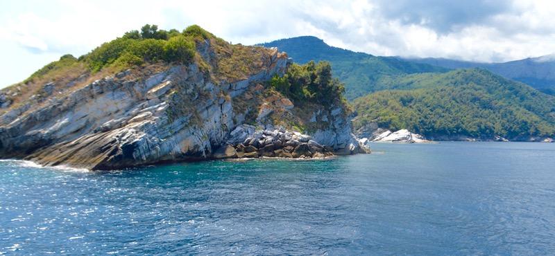 Insula Krambousa thassos