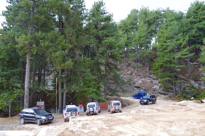 Jeep Safari Thassos varful Ypsarion excursie masinile