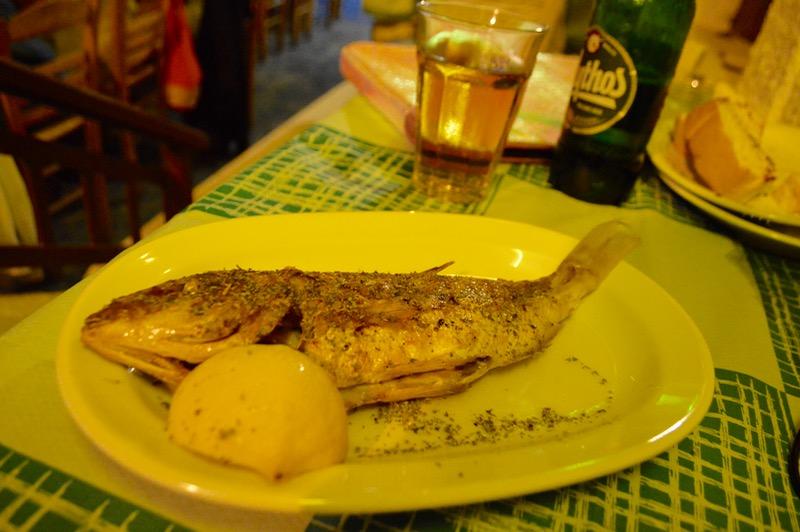 Taverna Koykoytsis Limenaria Thassos cina 3 dorada
