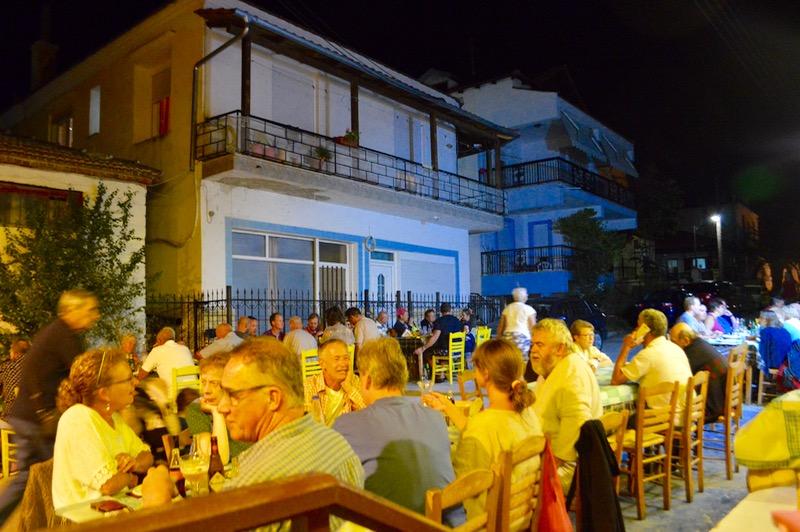 Taverna Koykoytsis Limenaria Thassos cina 3 seara
