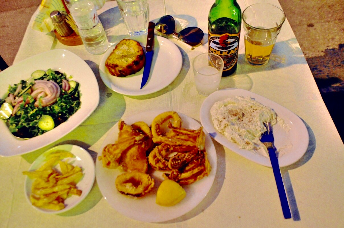 cina Taverna Koykoytsis Limenaria Thassos cina 3