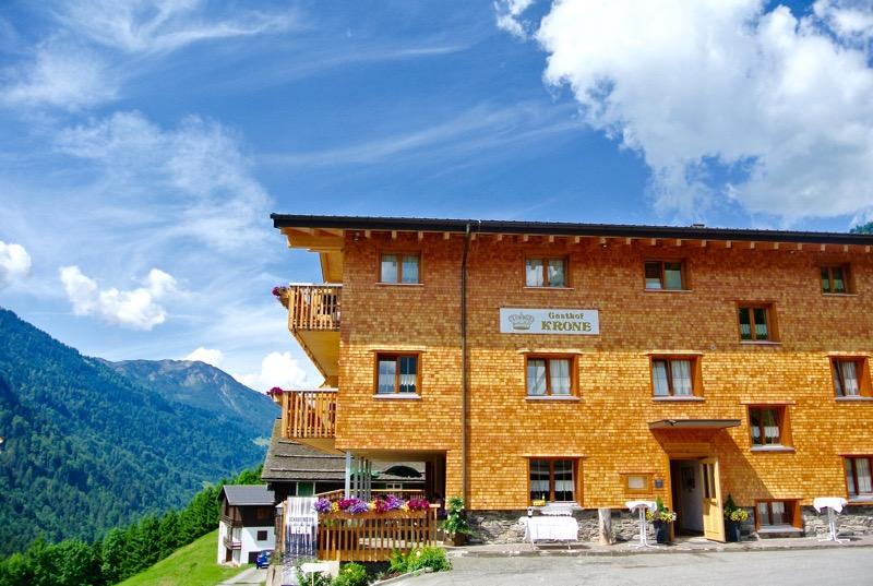 Hotel Krone in parcul biosferei Grosses Walsertal Vorarlberg 34