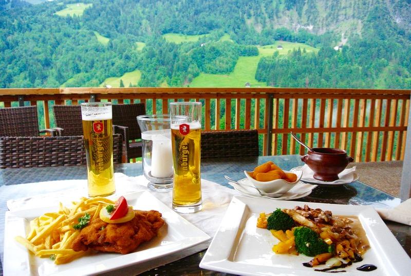 Hotel Krone in parcul biosferei Grosses Walsertal Vorarlberg mancare 1 7
