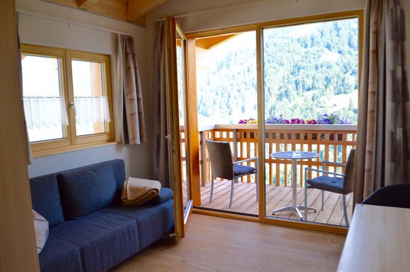 Hotel Krone in parcul biosferei Grosses Walsertal Vorarlberg camere 3