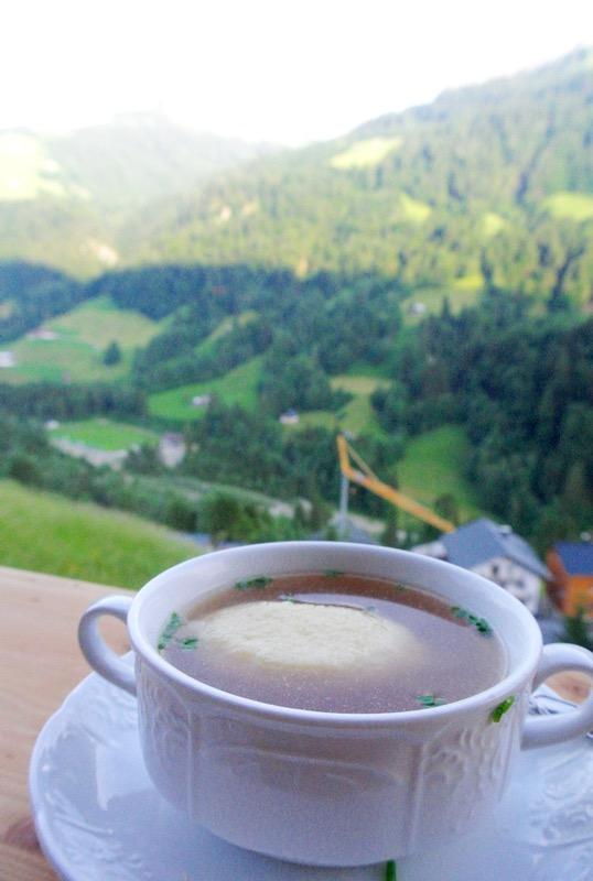 Hotel Krone in parcul biosferei Grosses Walsertal Vorarlberg