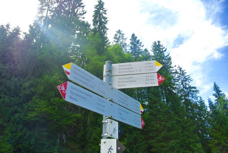 traseu drumetie satulSchönenbach Bregenzerwald Vorarlberg Austria atractii turistice1 27