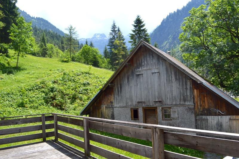cazare grosses walsertal Detox digital la BAD Rothenbrunnen1 terasa