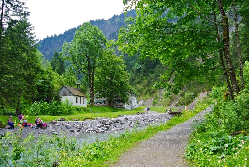 cazare grosses walsertal Detox digital la BAD Rothenbrunnen natura trasee 5