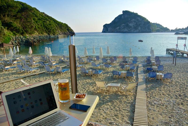 paleokastritsa corfu ghid plaje cazare hoteluri atractii 8
