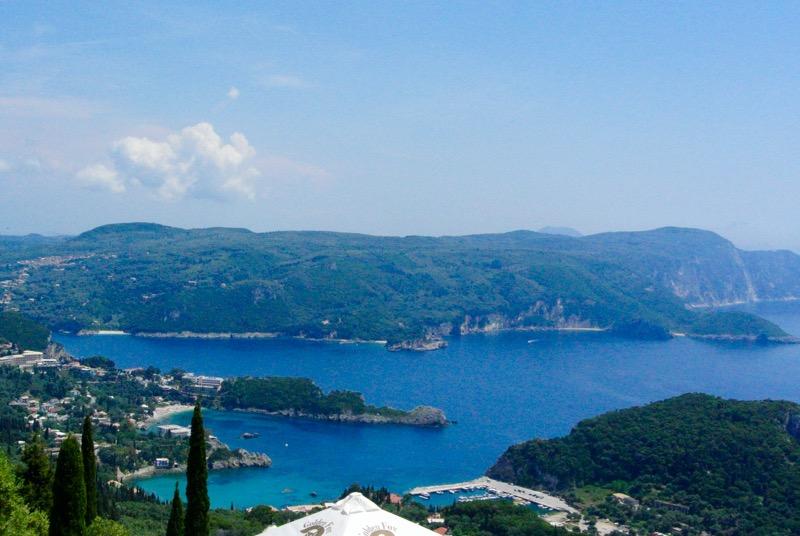paleokastritsa corfu ghid plaje cazare hoteluri atractii 7