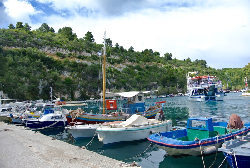 Satul Gaios insula Paxos grecia 6