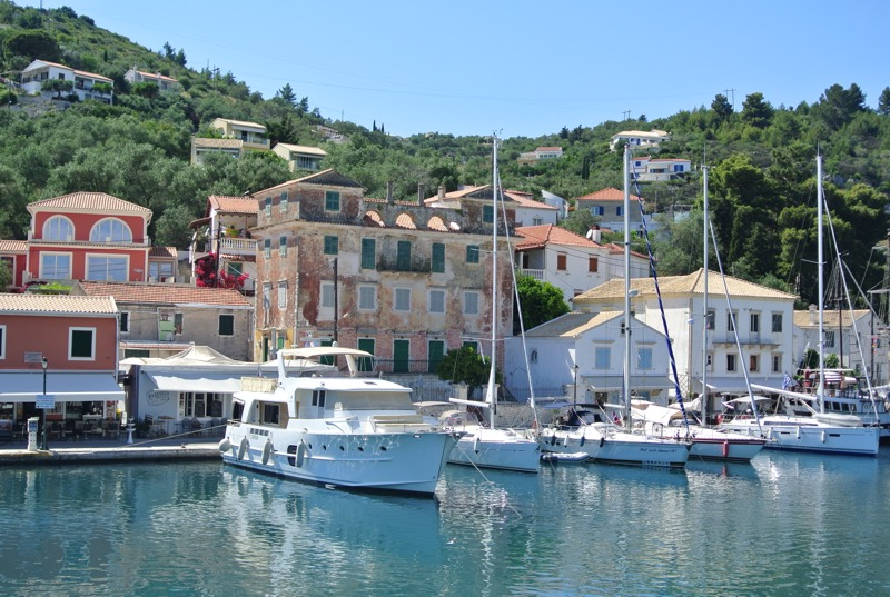 Satul Gaios insula Paxos grecia 1