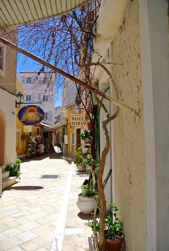 Satul Gaios insula Paxos grecia 9