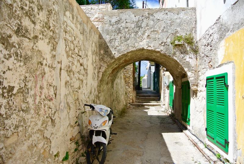 Satul Gaios insula Paxos grecia 8