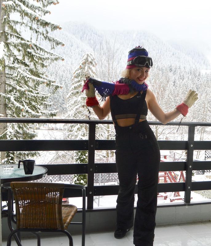 Cazare Poiana Brasov Royal Boutique Hotel10 terasa vedere munte