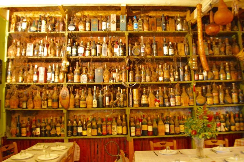 Taverna Tripa satul Kinopiastes Corfu 1