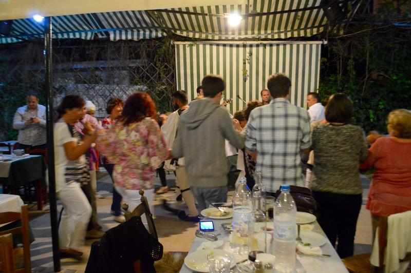 Taverna Tripa satul Kinopiastes Corfu 7