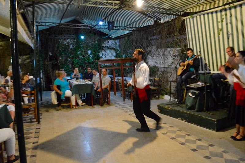 Taverna Tripa satul Kinopiastes Corfu 9