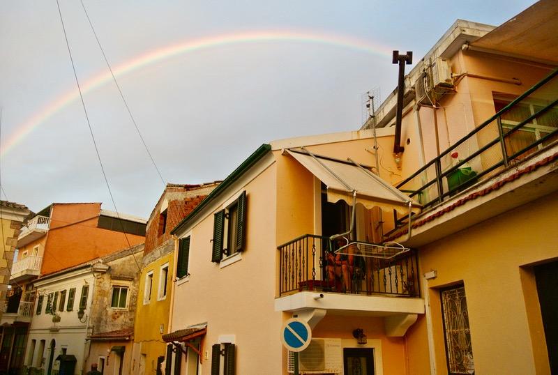 satul kinopiastes insula corfu
