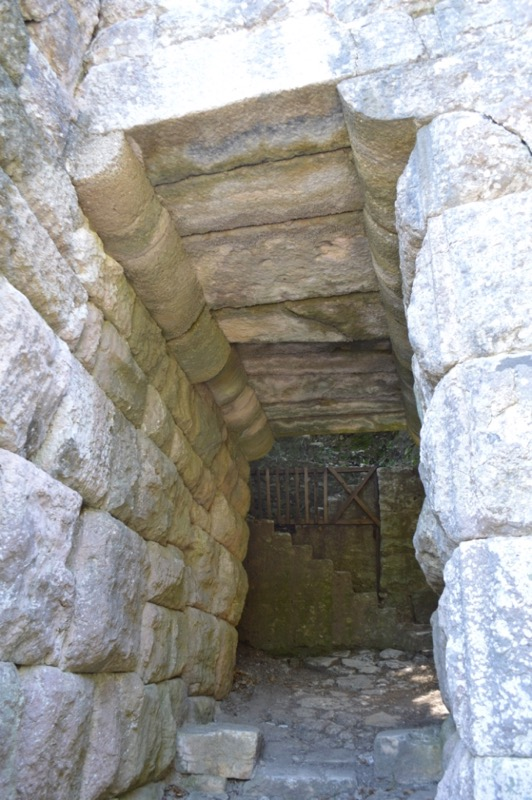 Situl antic Butrint Albania poarta scaean 1