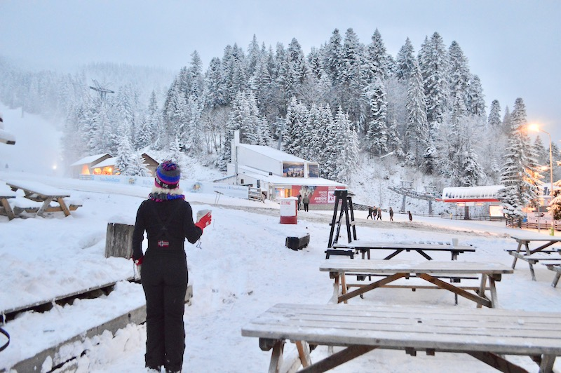 Poiana Brasov Iarna schi snowboard transport 23