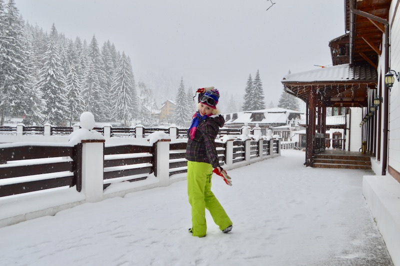 Poiana Brasov Iarna schi snowboard transport 19