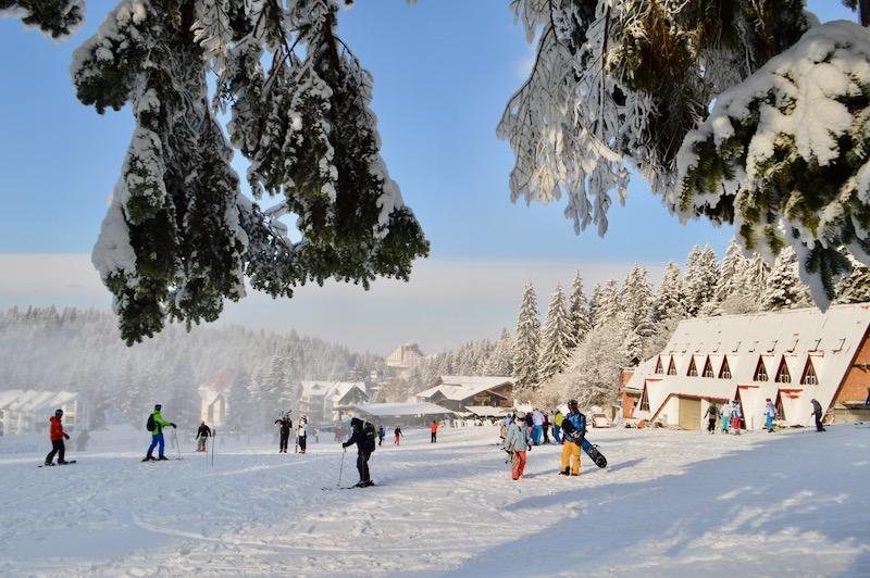 Poiana Brasov Iarna schi snowboard transport 13