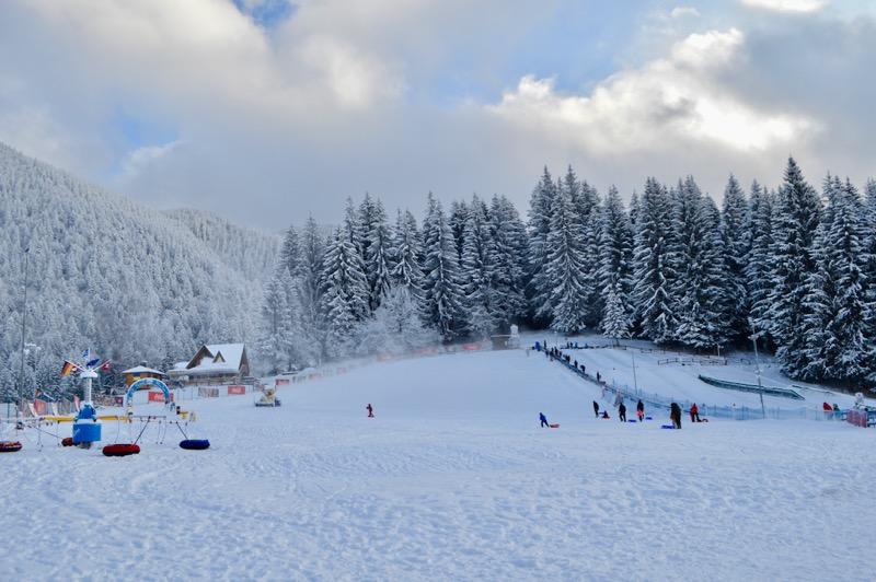 Poiana Brasov Iarna schi snowboard transport 9