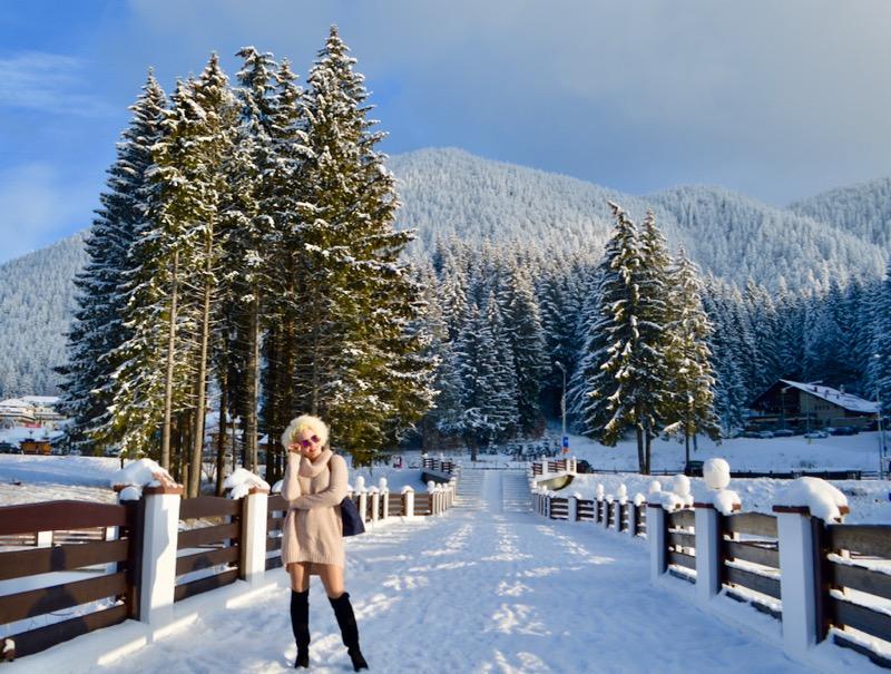 Poiana Brasov Iarna schi snowboard transport 6