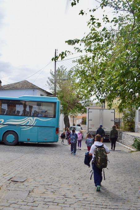 Satul Theologos Thassos Ghid de călătorie autobuz