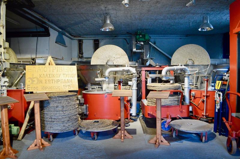fabrica de ulei de masline Sotirelis satul Panagia Thassos vizita 4