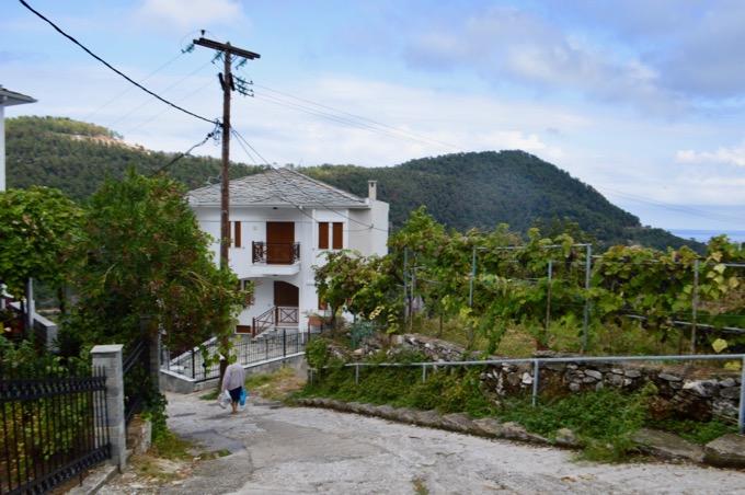 atractii satul Panagia insula Thassos