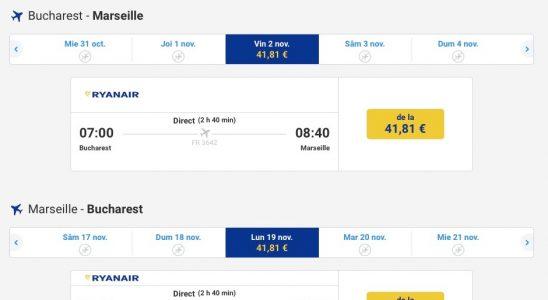 bilete de avion bucuresti marsilia
