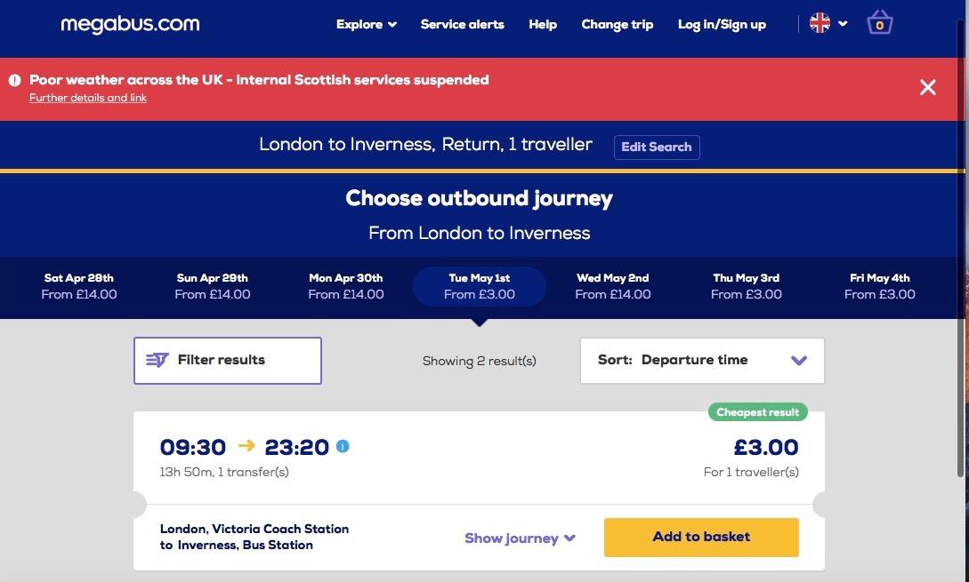 Megabus Transport Autocar Marea Britanie Low Cost 1
