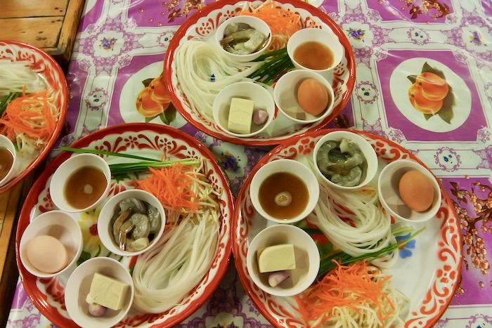 Curs de gatit mancare thailandeza in Chiang Mai Pad Thai supa 12