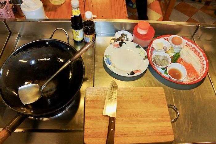 Curs de gatit mancare thailandeza in Chiang Mai Pad Thai supa 14
