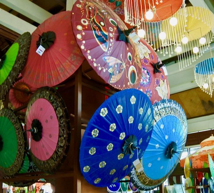 Chiang Mai fabrica de umbrele hartie 7 magazin