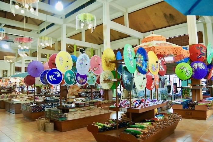 Chiang Mai fabrica de umbrele hartie 8 magazin