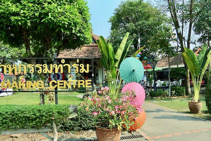 Chiang Mai fabrica de umbrele hartie 10