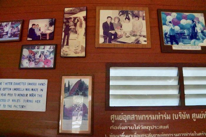 Chiang Mai fabrica de umbrele hartie 2