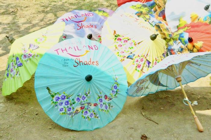 Chiang Mai fabrica de umbrele hartie 4