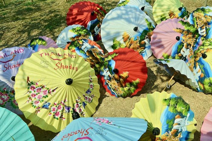 Chiang Mai fabrica de umbrele hartie 5