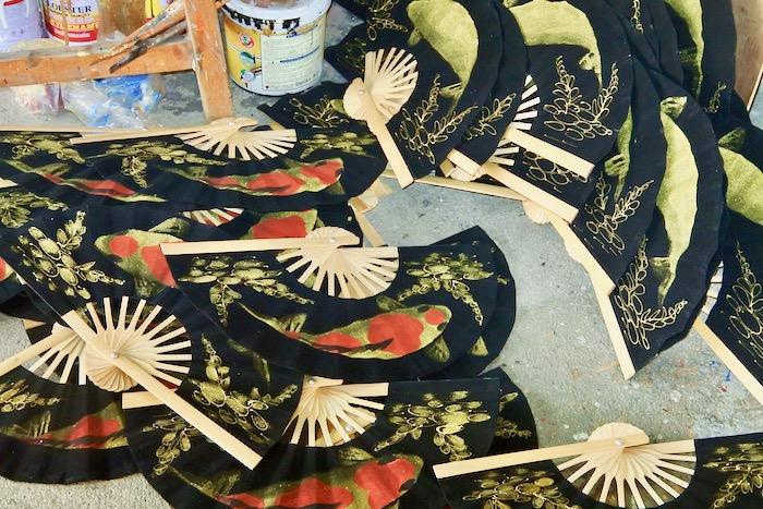 Chiang Mai fabrica de umbrele hartie 6