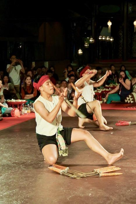 Khan Toke la Vechiul Centru Cultural Chiang Mai 5