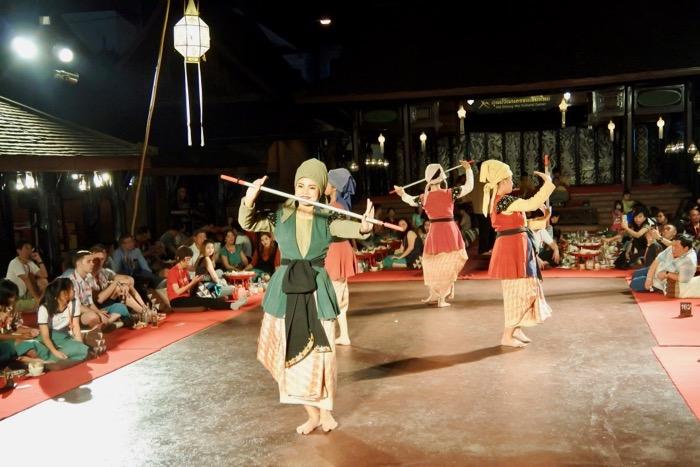 Khan Toke la Vechiul Centru Cultural Chiang Mai 4