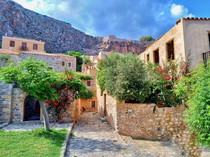 Castelul Monemvasia Grecia 16
