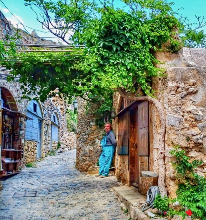 Castelul Monemvasia Grecia 10
